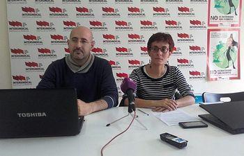 José Miguel Alis y Matilde Castilla: Representantes de STE-CLM