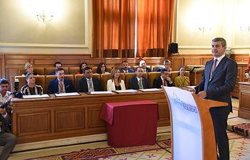 Constitución de la nueva Corporación de la Diputación de Toledo. (Fotos: José Ramón Márquez // JCCM)