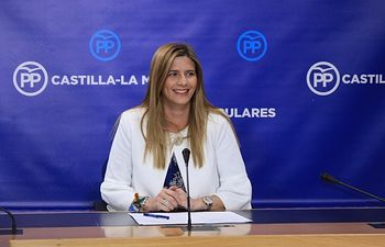 Carolina Agudo, secretaria general del PP de Castilla-La Mancha.