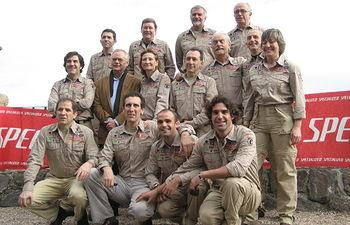 Integrantes de la expedición.
