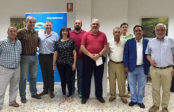 Francisco Cañizares participa en un acto de campaña en Argamasilla de Calatrava