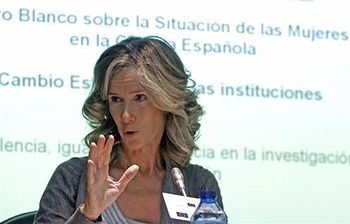 Cristina Garmendia. Foto: EFE.
