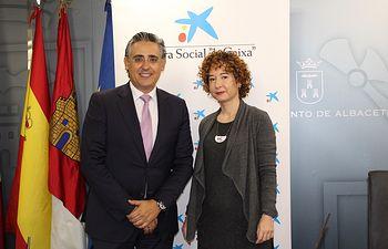 Mª Ángeles Martínez y Alfonso Ortega