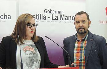 María Díaz y Jorge Vega.