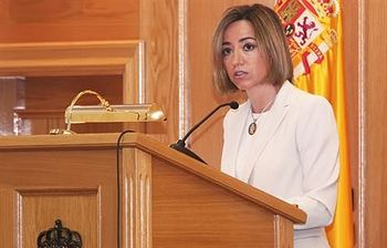 Carme Chacón. Foto de archivo.