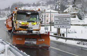 Nieve  - Carreteras