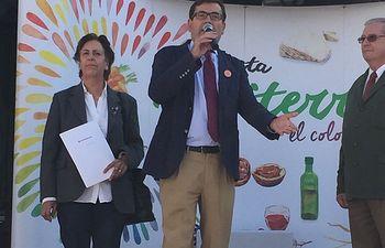 Carlos Cabanas anima a los escolares a llevar un estilo de vida sano y una alimentación saludable. Foto: Ministerio de Agricultura, Alimentación y Medio Ambiente