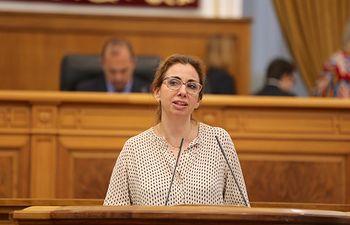 Úrsula López, diputada del Grupo Parlamentario Cs en las Cortes de Castilla-La Mancha.