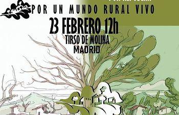 STE-CLM llama a manifestarse el 23 de febrero en Madrid en apoyo a los repobladores de Fraguas