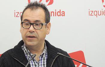 Juan Ramón Crespo, Coordinador Regional de Izquierda Unida Castilla-La Mancha.