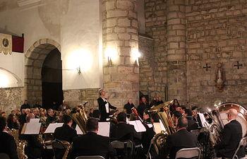 Concierto Banda Novi y Schola en Tendilla noviembre 2017.