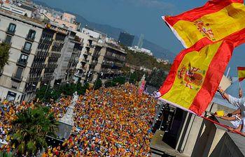 Manifestación Barcelona-5 - Le Monde - 08-10