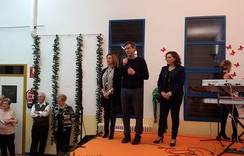 El alcalde asistió al baile de Navidad para jubilados y pensionistas