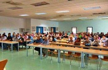 Asamblea celebrada el pasado 24 de septiembre en Puertollano