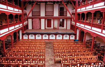 El Corral de Comedias de Almagro fue construido en 1628 por Leonardo de Oviedo.