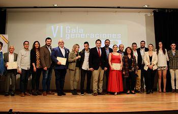 Navarro participa en la ¨VI Gala Generaciones¨ organizada por NNGG Tomelloso.
