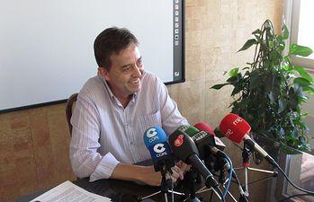 Enrique Belda, concejal del Grupo Municipal Popular del Ayuntamiento de Ciudad Real.