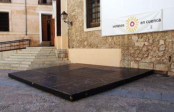 Plaza de la Merced, Cuenca.