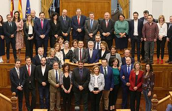 Pleno de las Cortes regionales celebrado hoy en Toledo. (Fotos: Ignacio López // JCCM)