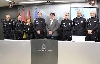 La Policía Local de Albacete realizó durante 2017 más de un 21 por ciento de intervenciones relacionadas con llamadas al 092