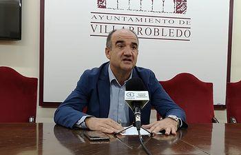 Valentín Bueno, alcalde de Villarrobledo.
