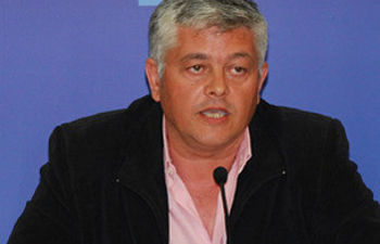 Luis Santiago Tierraseca ha participado en las negociaciones con el PP de Guadalajara.