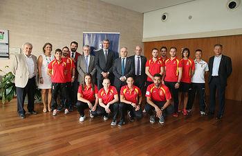Presentación campeonato de Kárate de Unión de Federaciones del Mediterráneo