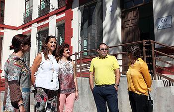 Visita a la obras en el Colegio Carlos Eraña