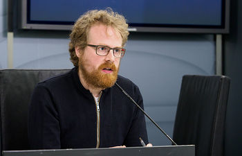 Álvaro Peñarrubia, portavoz del Grupo Muncipal Ganemos AB en el Ayuntamiento de Albacete