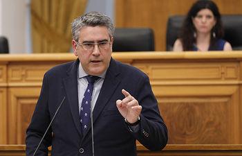 Miguel Ángel Rodríguez, diputado regional del Grupo Parlamentario Popular en las Cortes de Castilla-La Mancha. Foto: CARMEN TOLDOS
