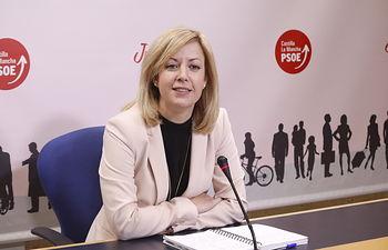 Ana Isabel Abengózar, portavoz del PSOE.
