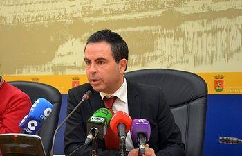 José Gutiérrez, secretario general del PSOE en la ciudad