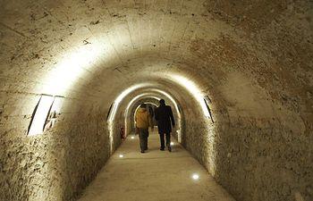Túnel Calderón de la Barca.