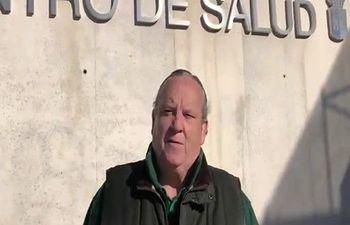 José Luis González Lamola, alcalde de El Casar.