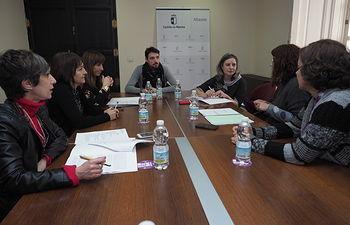 Encuentro entre el Instituto de la Mujer de Castilla-La Mancha y la Asociación Asexórate