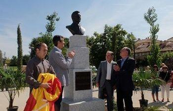 Inauguración del parque de Adolfo Suárez