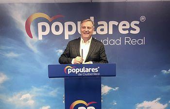 Paco Cañizares, presidente provincial del Partido Popular de Ciudad Real.