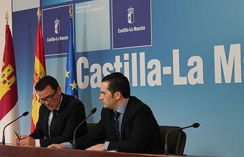 Juan Carlos Martín y Antonio Lucas-Torres, Navidad +Activa en Ciudad Real. Foto: JCCM.