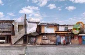 """Ipiranga III"" (2006), fotografía siliconada sobre metacrilato de Dionisio González. Fuente: Seacex."