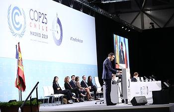 25ª Conferencia de las Partes de la Convención Marco de Naciones Unidas sobre el Cambio Climático (CPE25) en Madrid. Foto: fervero-67