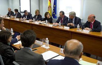 Reunión del Grupo Interministerial para la gestión de la Crisis de Inmigración y Asilo en la UE (Foto: Pool Moncloa)