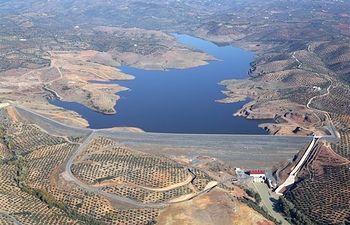 Presa del Arenoso, Córdoba. Foto: Ministerio de Agricultura, Alimentación y Medio Ambiente