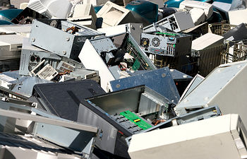 Residuos Electrónicos. Foto de Archivo.