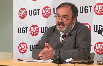 Carlos Pedro, secretario general de UGT.