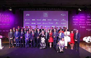Foto de familia Premios San Juan'2017.