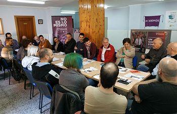 Coordinadora Provincial Podemos Albacete en Almansa.