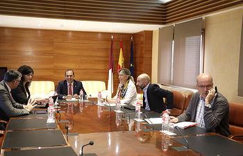 La Mesa de las Cortes califica la PNL conjunta sobre agua. Foto: CARMEN TOLDOS