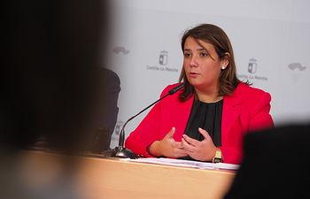 Agustina García Élez, consejera de Fomento.