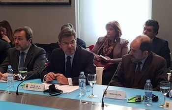 Catalá, en seminario sobre libertad religiosa. Foto: Ministerio de Justicia.