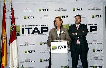 Soriano inaugura ITAP de Albacete 1. Foto: JCCM.